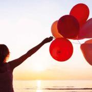 Loslassen Ballons