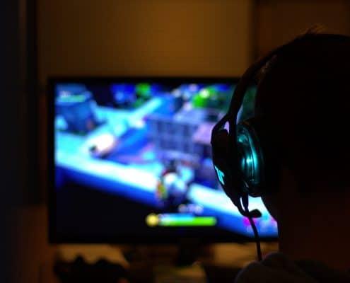 Videospiel Kind