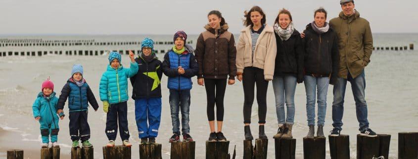 Familie Müller beim Strandurlaub, Foto: Privat