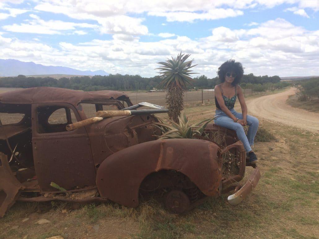 Bonita in Südafrika, Foto: privat