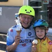 Rüdiger Jope und sein Sohn. Foto: Privat