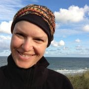 Simone Heintze nach der Chemo bei der Reha auf Sylt, Foto: Privat