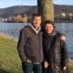Stefan und Sabine Loß in Heidelberg drei Tage vor der Transplantation. Foto: Privat