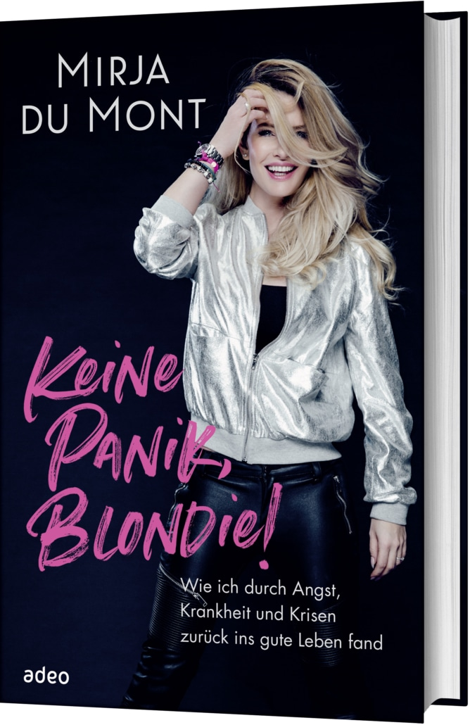 In ihrem Buch erzählt Mirja du Mont ihre Geschichte ausführlich. Cover: adeo