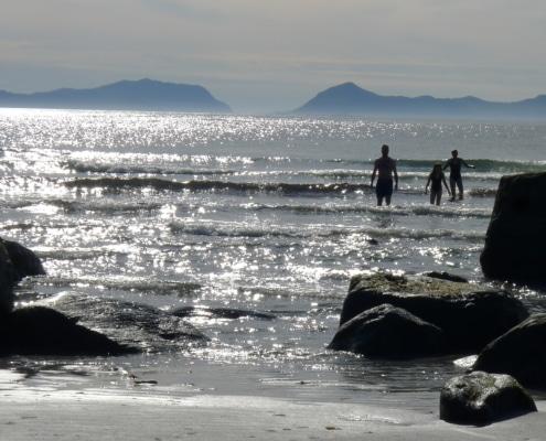 Baden im Nordatlantik, Foto: Privat